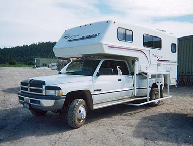 Stable-Lift Electronic Truck Camper Jack- Dually Three Jack System -